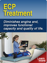 ECP Treatment. Diminishes angina and improves functional capacity and quality of life.